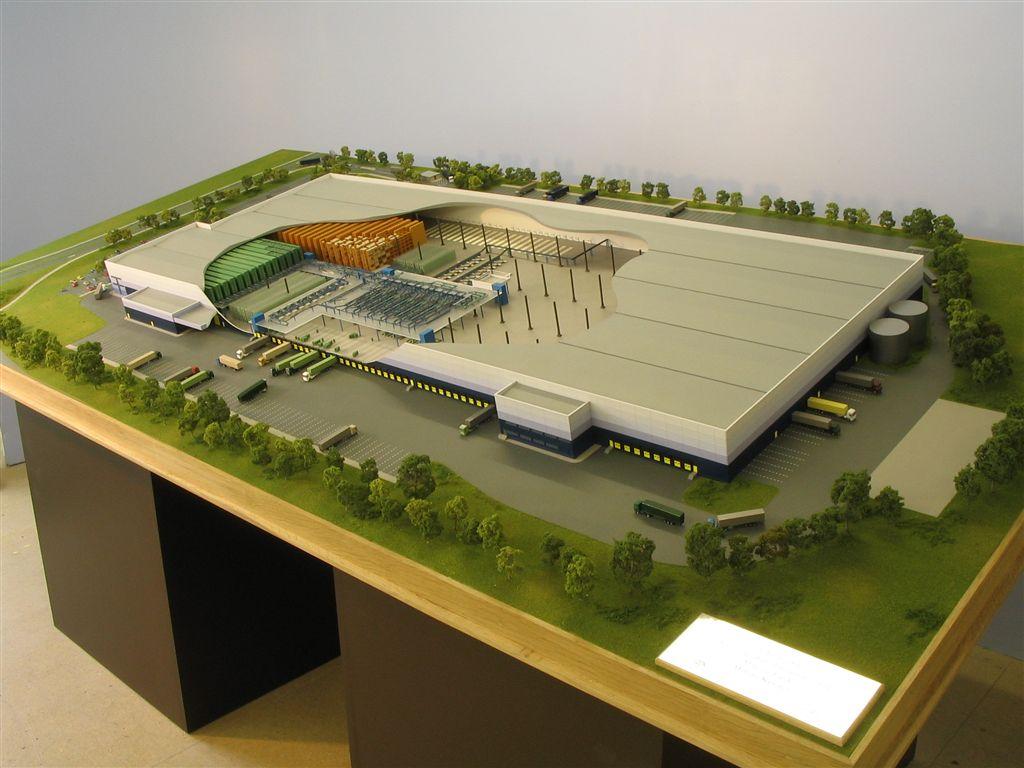 Models sjslaser for Waste material model